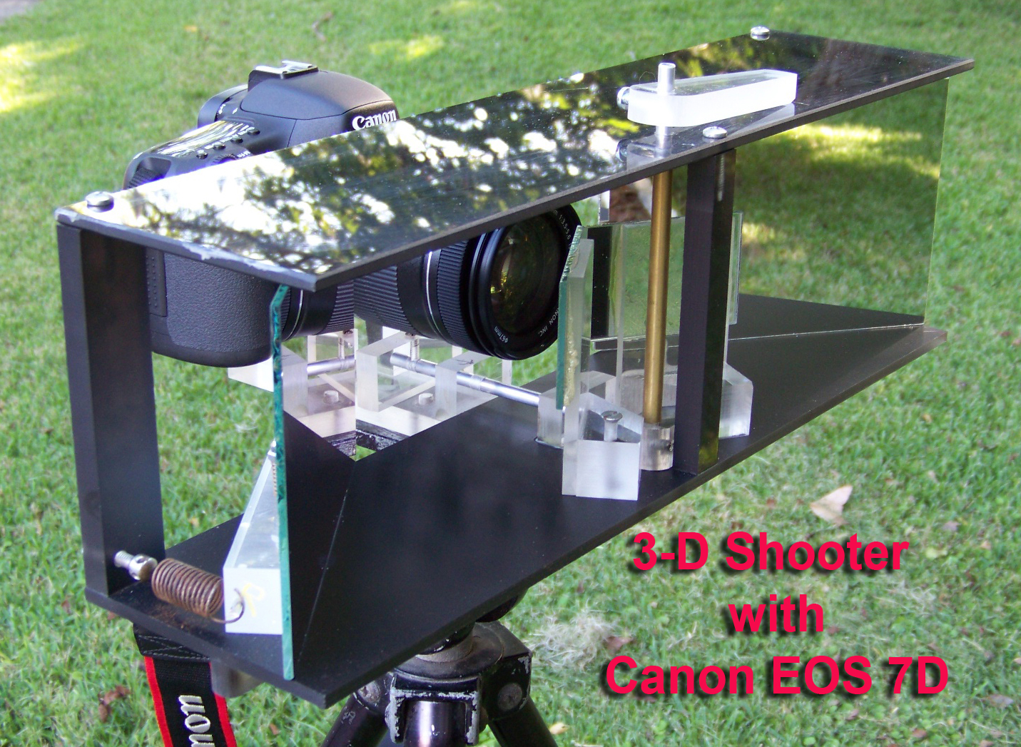 Make a 3-D Stereoscope Slide and Video Shooter