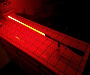 Floating Lightsaber Flow Prop