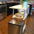 Kitchen Cart With Aluminum Legs