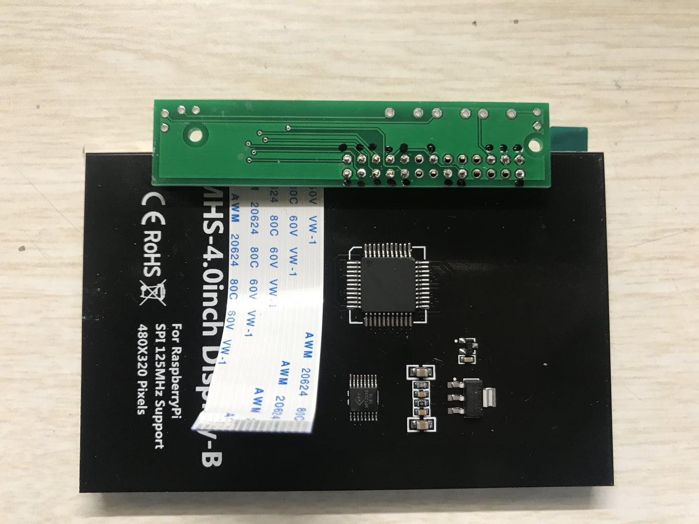 Solder the Ardiuno Pro Micro and Buttons and FPC Connector