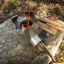 DIY Rocket Stove Out of Cans