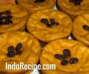 Indonesian Pumpkin Mud Cake (Kue Lumpur)