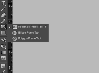 Right Click on the Rectangle Tool. Click and Drag Your Cursor to Create a Rectangle