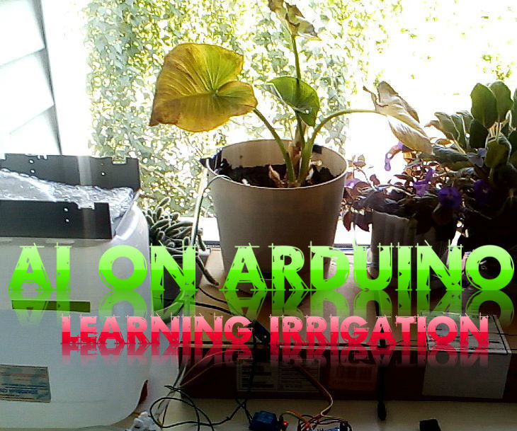 AI on Arduino (learning irrigation station)