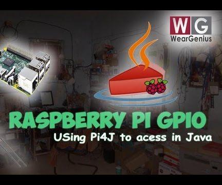 Raspberry Pi GPIO Programming using JAVA