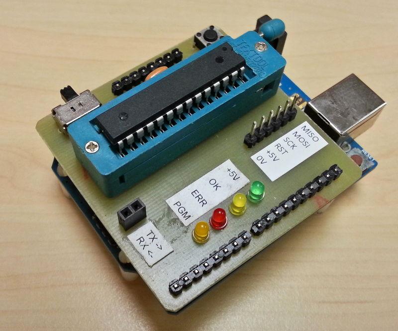 Arduino UNO as AtMega328P Programmer