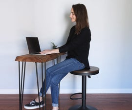DIY (Easy) Live Edge Desk