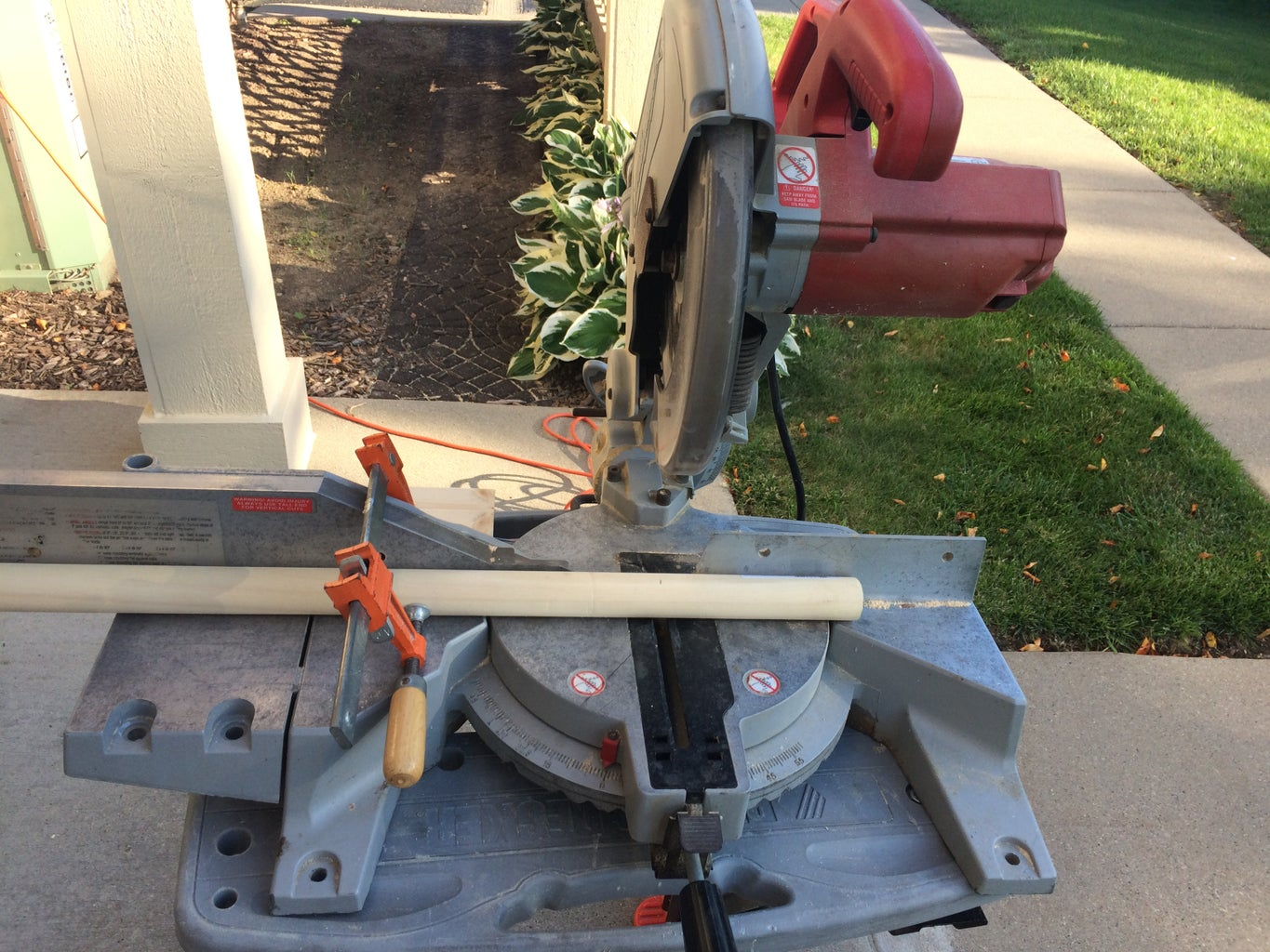 Cut the Wooden Dowel Handle to Length