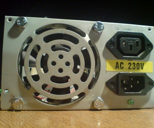 """Smoke Blower"" From PC Power Supply"
