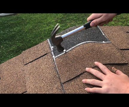 TIPs on Installing NICE Looking Roof With No Leaks (drip Edge, Tarpaper, Shingles)