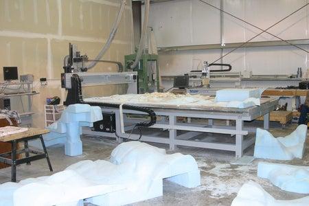 CNC Foam Monument