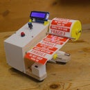 DIY Arduino Based Auto Label Dispenser Machine