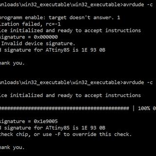 ATtiny13A/ATtiny25/ATtiny45/ATtiny85 Programming With a Programmer Board and USBasp