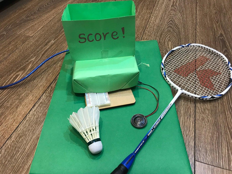 Badminton Serve Device