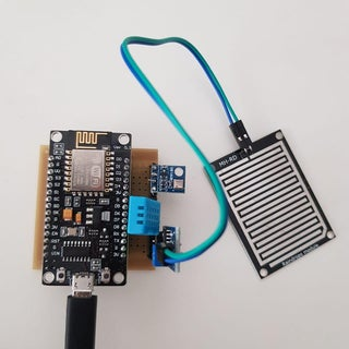 DIY Weather Station Using DHT11, BMP180, Nodemcu With Arduino IDE Over Blynk Server