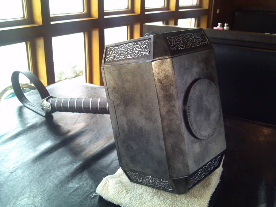 Thor: The Dark World Mjolnir
