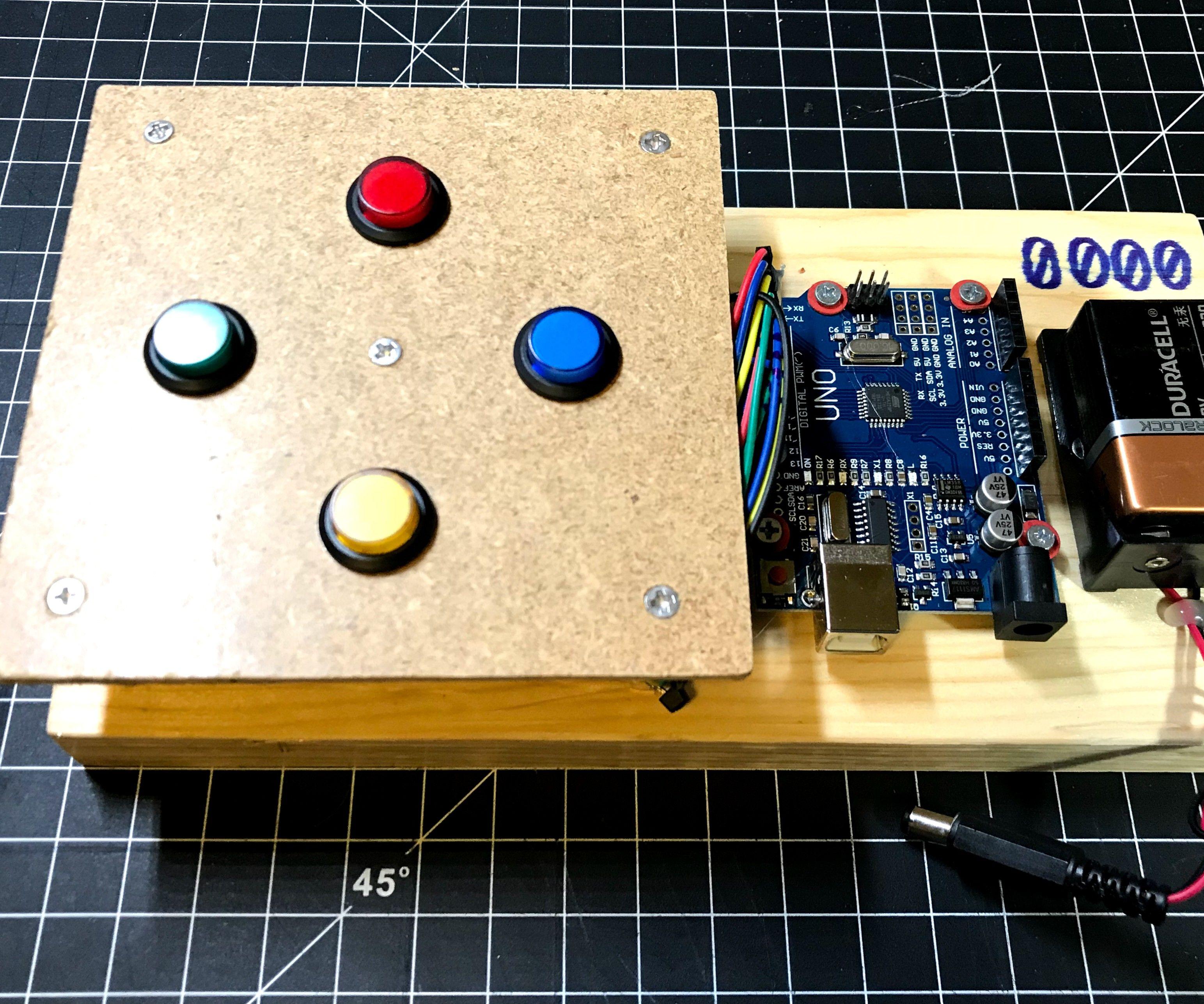 Simon & Whack-a-Mole Game Using Arduino