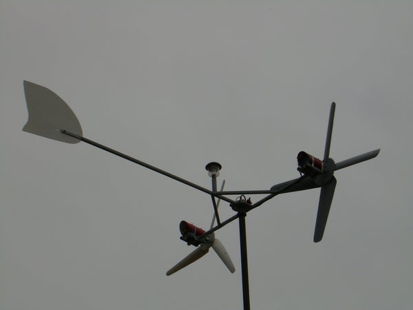 Wind Powered Ametek 30 Wind Generator