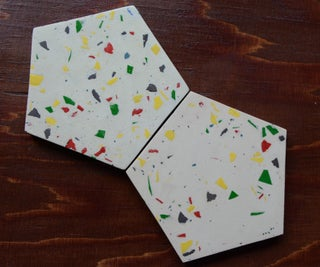 Make Cement Terrazzo With Leftover Resin