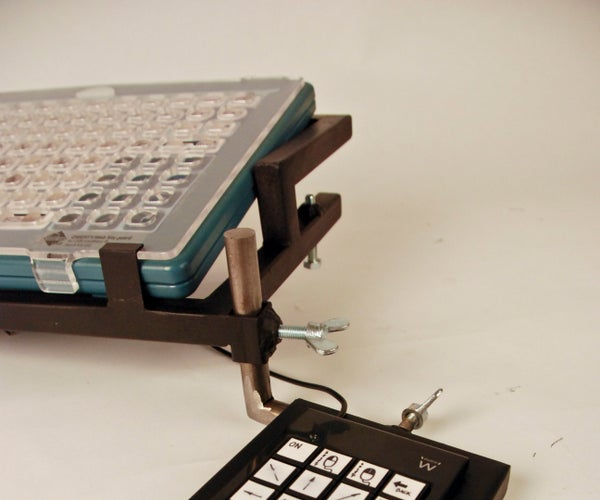 Toetsenbordhulp / Assistive Keyboard Mount