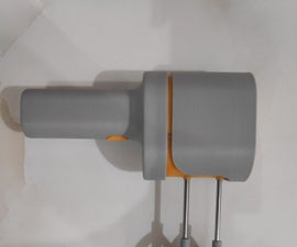 3D-Printed Electric Hand Mixer