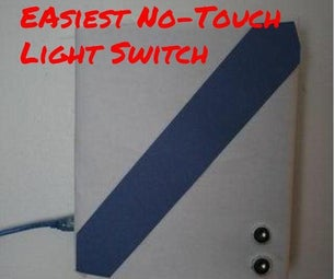 Easiest No-Touch Light Switch