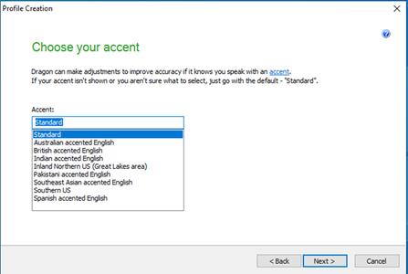 Verify Accent