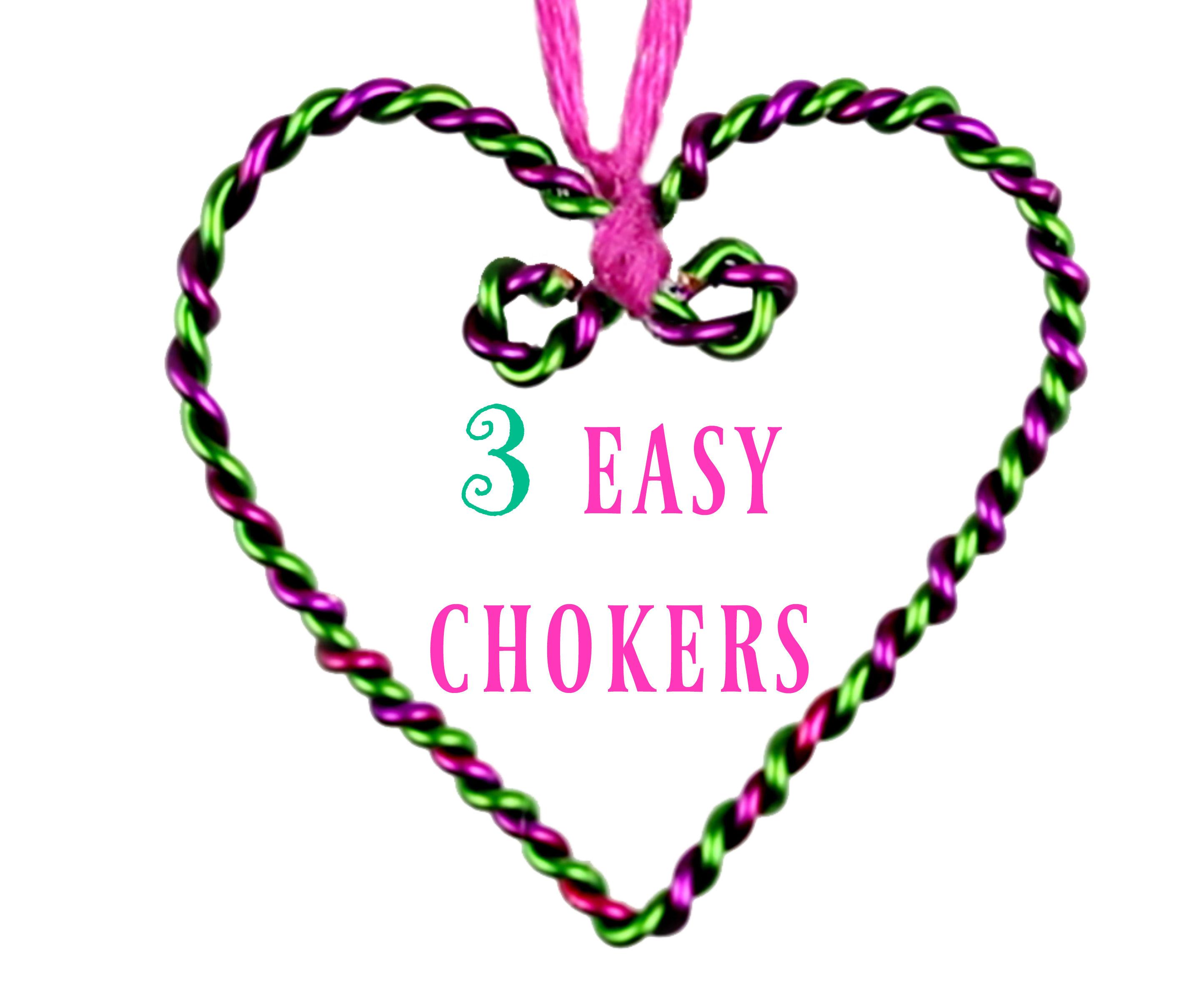 DIY Heart Chokers