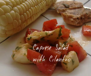 Caprese Salad With Cilantro