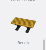 Step 4: Add 2 Benches and a Ball