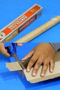 Let's Take a Cardboard Pipe & Aluminium Foil Box!