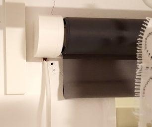 Motorized WiFi IKEA Roller Blind