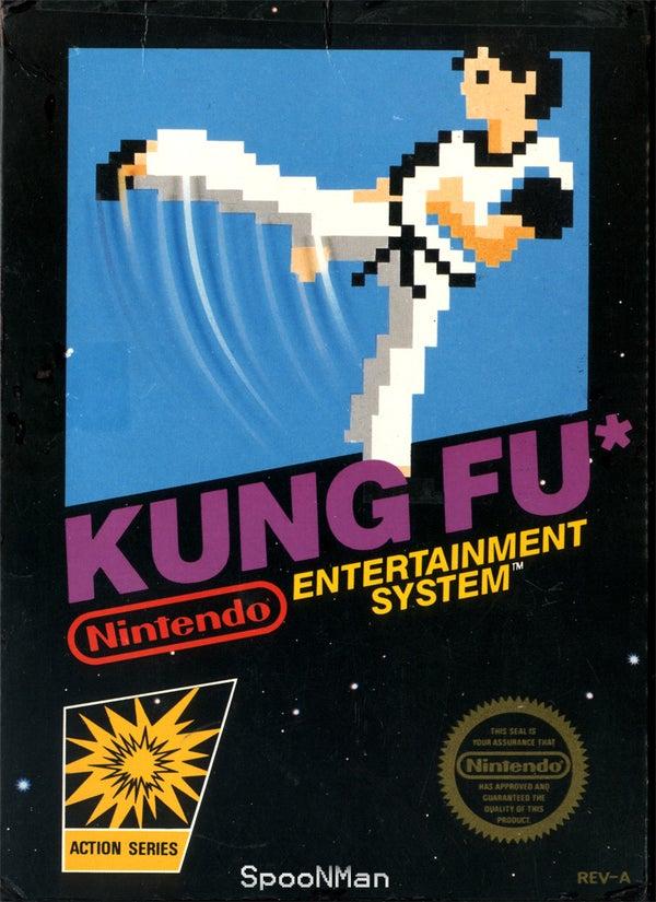 Make a Kung-fu NES Action Figure!