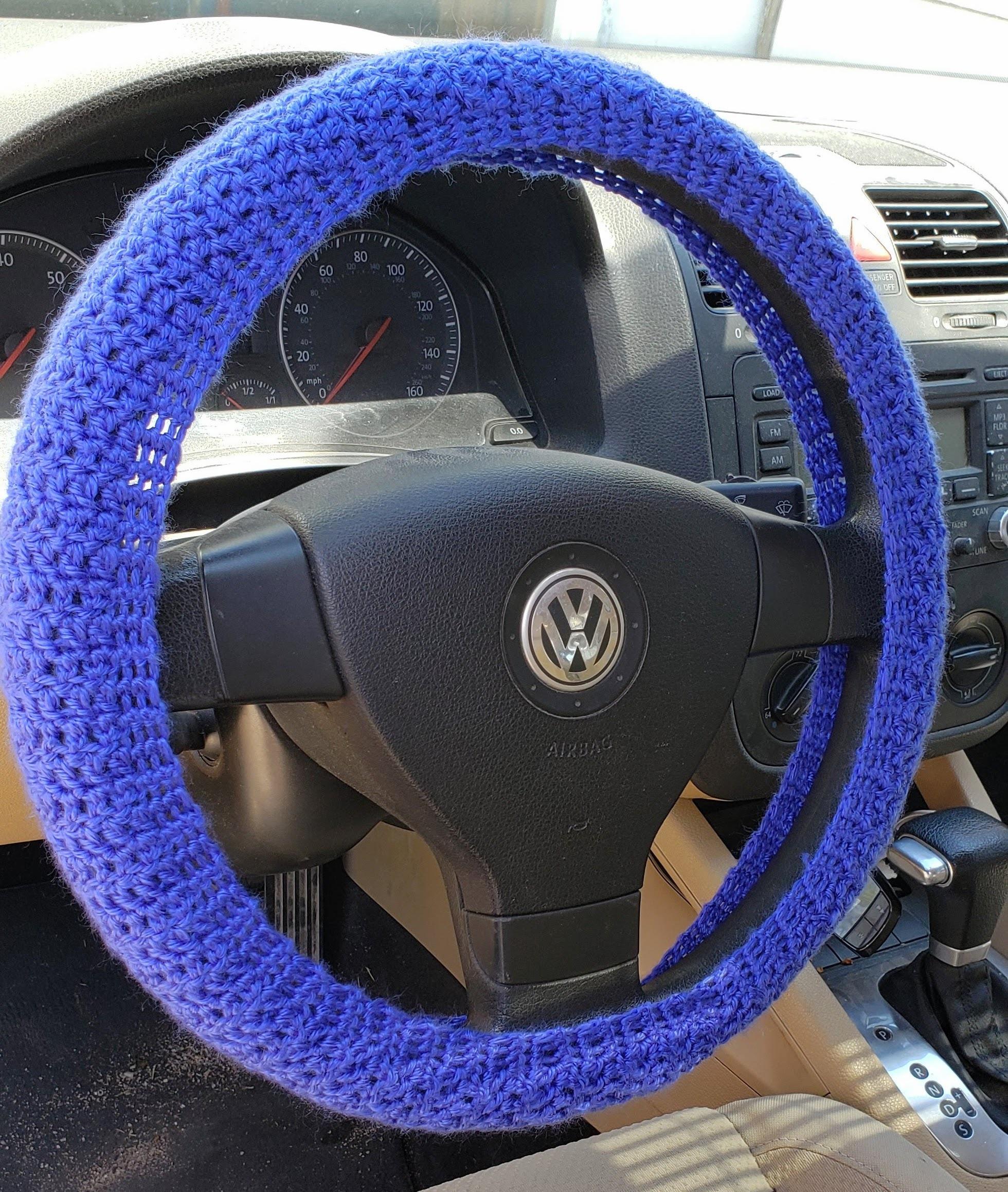 Crochet Steering Wheel Cover Instructables