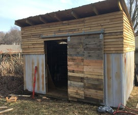 Mostly Upcycled Garden Shed