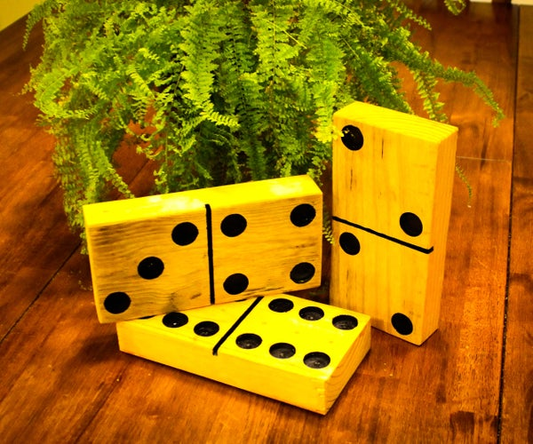 Large Dominoes From Pallets