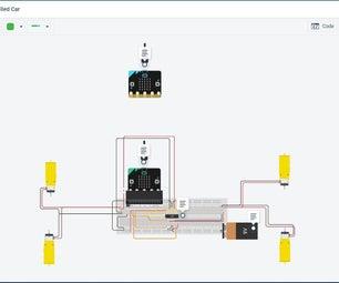 Micro:bit Gesture-Controlled Car