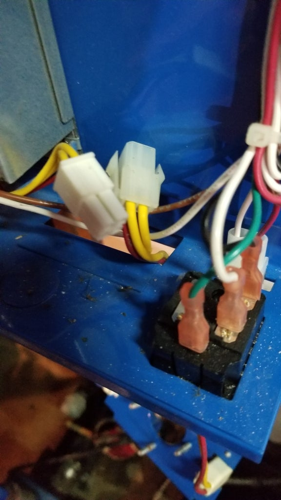 Remove Bottom Water Connection