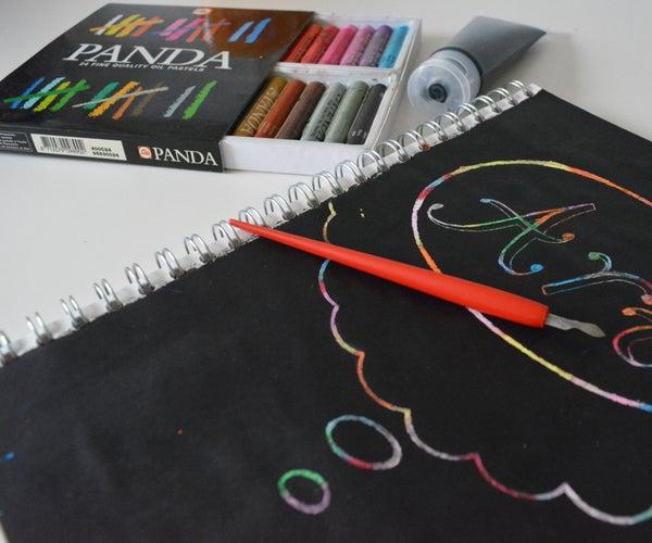 Scratch-Off Rainbow Paper