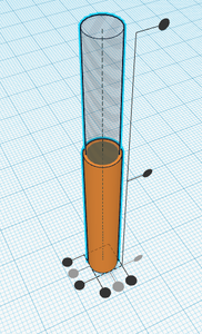 Making the Second/hole Cylinder