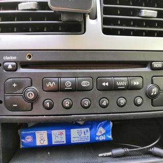 Aux-in Jack for VDO RD3-00 Car Radio (Peugeot, Citroen)