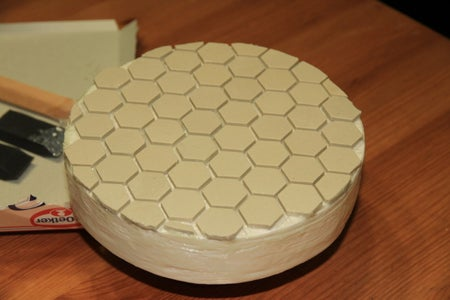 Cover the Tool With Ceramic Tiles