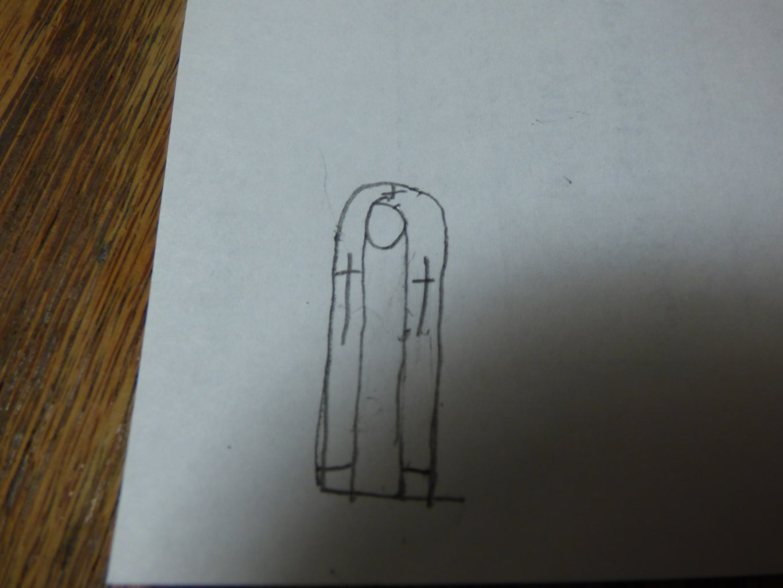 Step 2: Bishop's Stole/Priest's Stole