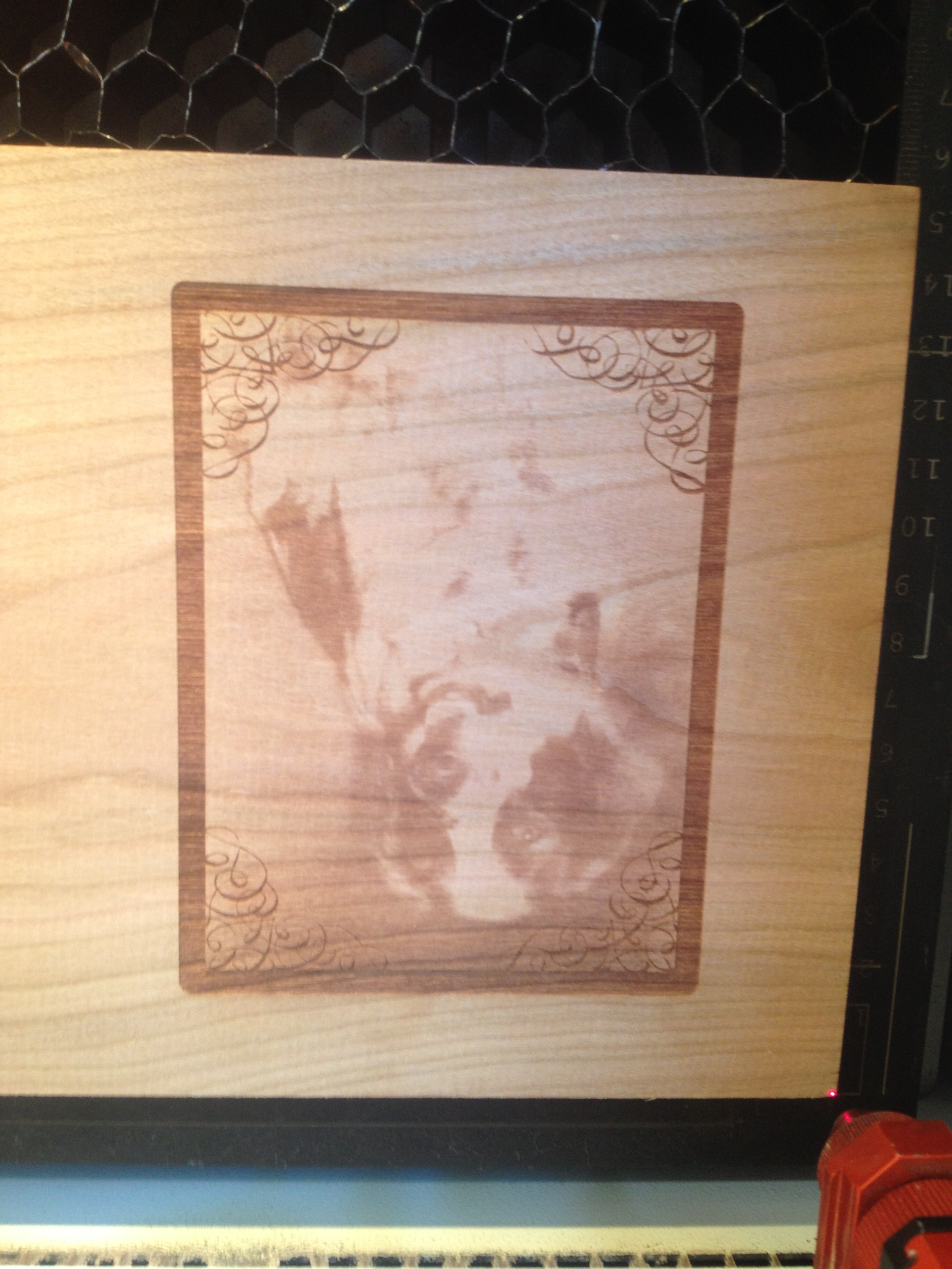 Laser Photo Engraving