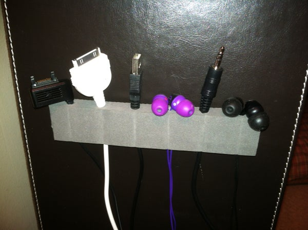 Hanging Cord Organizer - Fast, Simple, and Cheap!