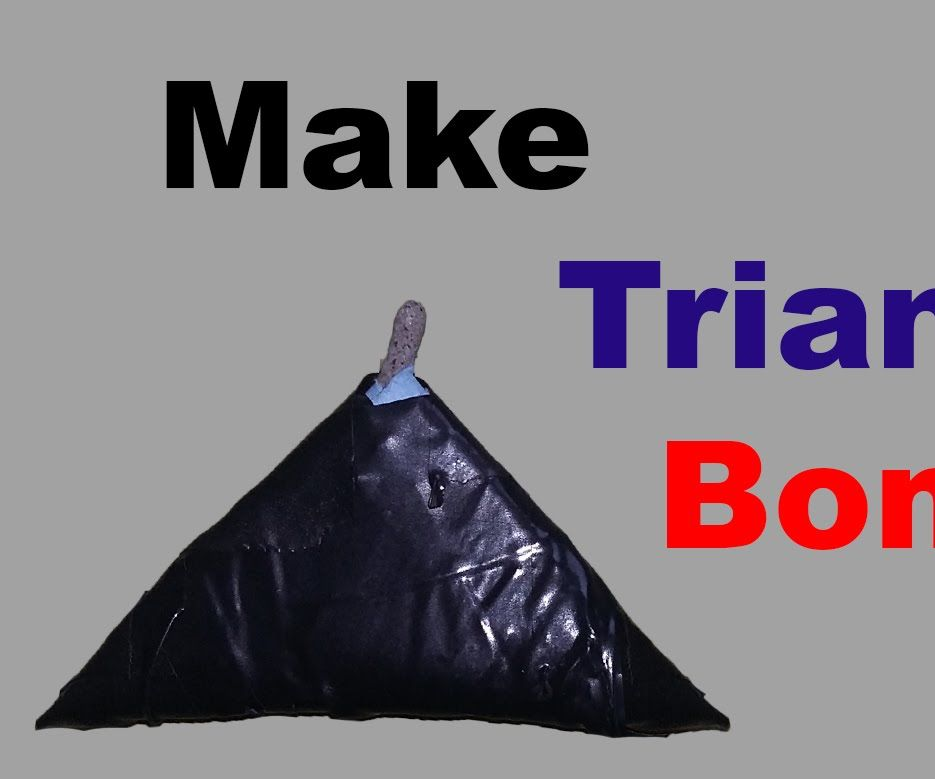 How to make triangle Bomb