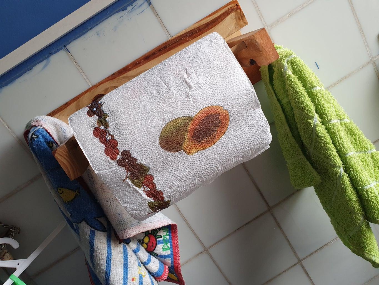 Porta Rollo De Cocina (Kitchen Roll Holder)