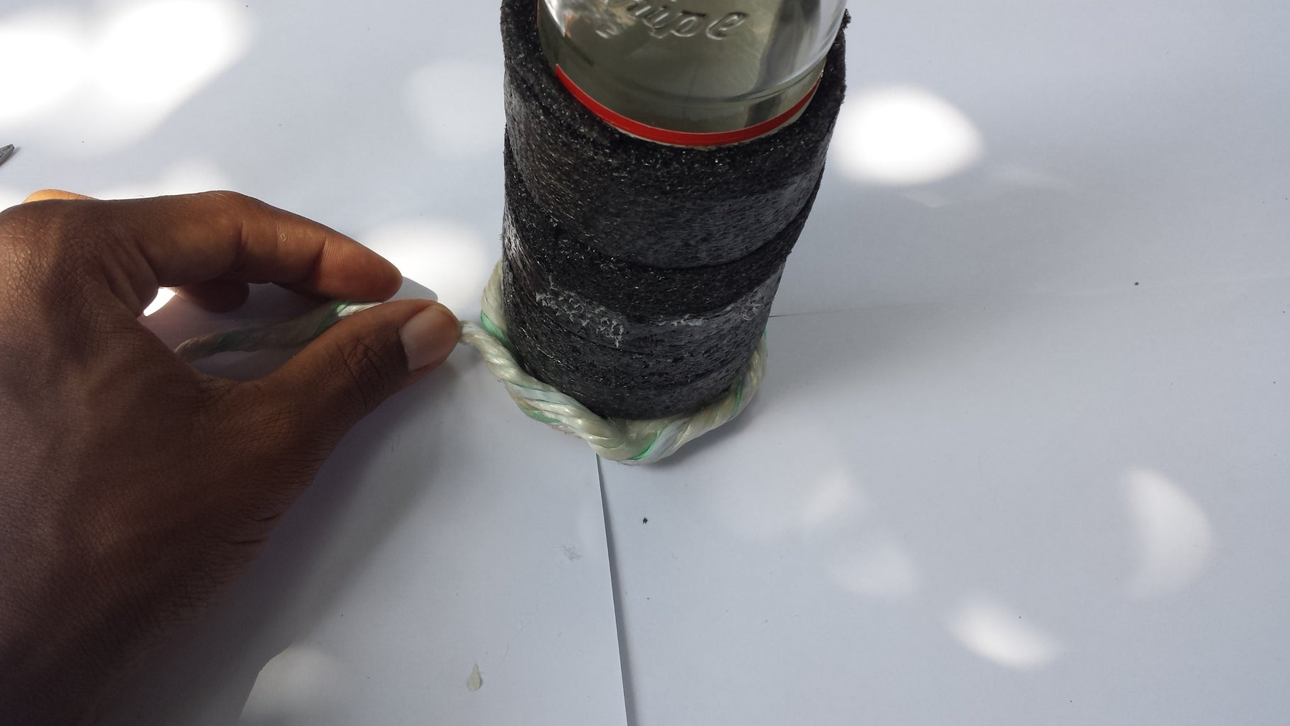 Creating Rope Outer Lining