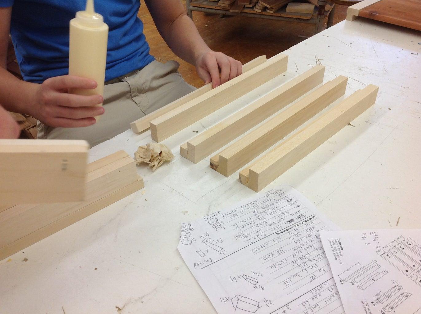 Building the Corners
