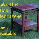 Make an Asian Nightstand